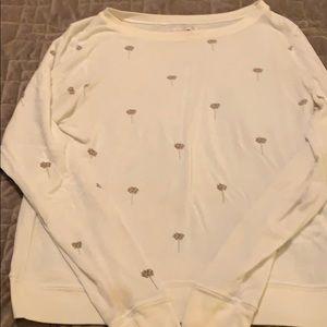 Spiritual Gangster medium ivory sweatshirt
